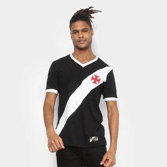 Camiseta Vasco Retrô Mania 1948 Masculina