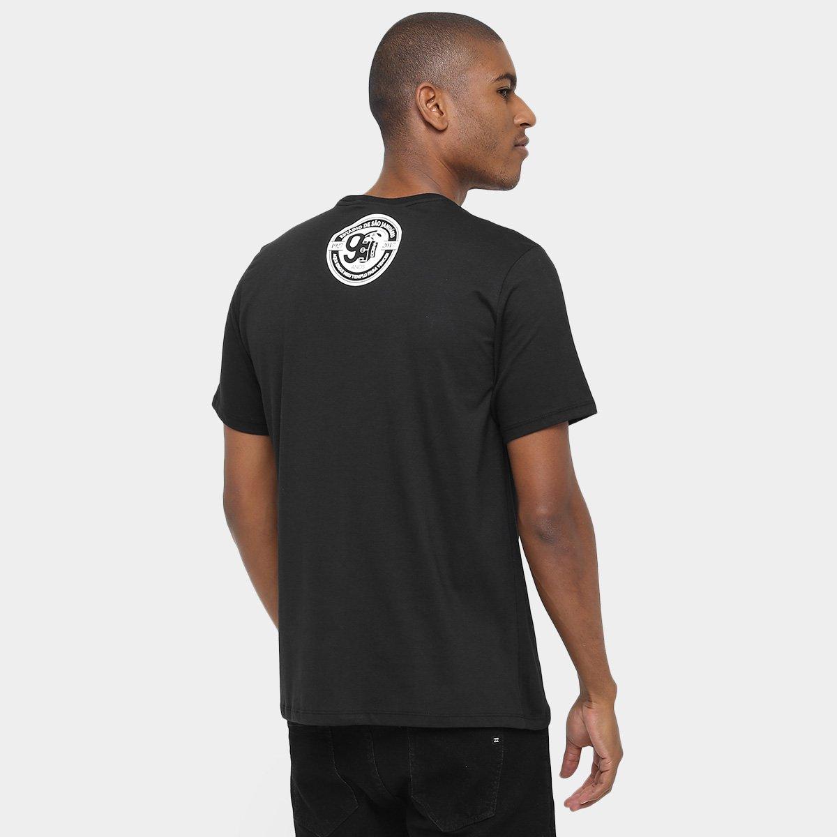 Camiseta Vasco São Januário 90 Anos Masculina - Preto - Compre Agora ... 6a12e79bb0999