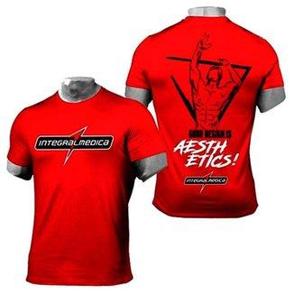 Camiseta Vermelha Esportiva - Zyzz - Integralmédica