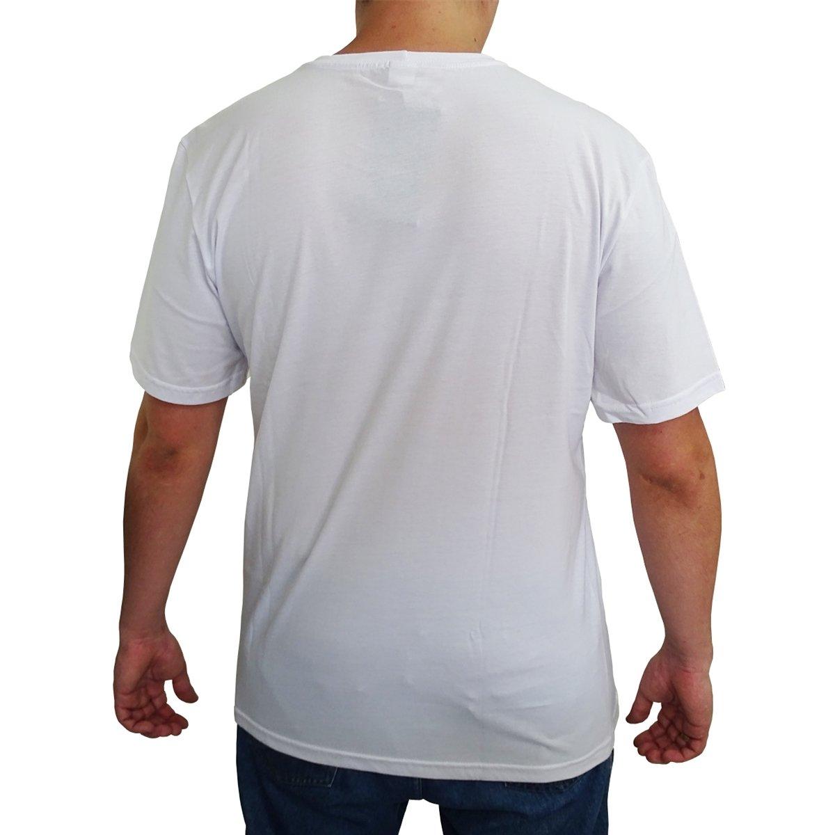 Camiseta Vida Marinha Manga Curta  Camiseta Vida Marinha Manga Curta b9ccf04852447