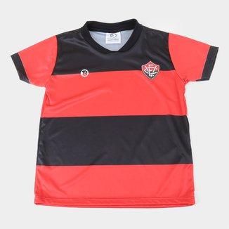 Camiseta Vitória Infantil Torcida Baby Sublimada