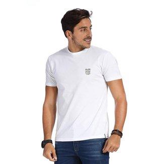 Camiseta VLCS SlimFit Gola Redonda Branca
