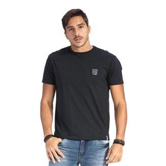Camiseta VLCS SlimFit Gola Redonda Preta