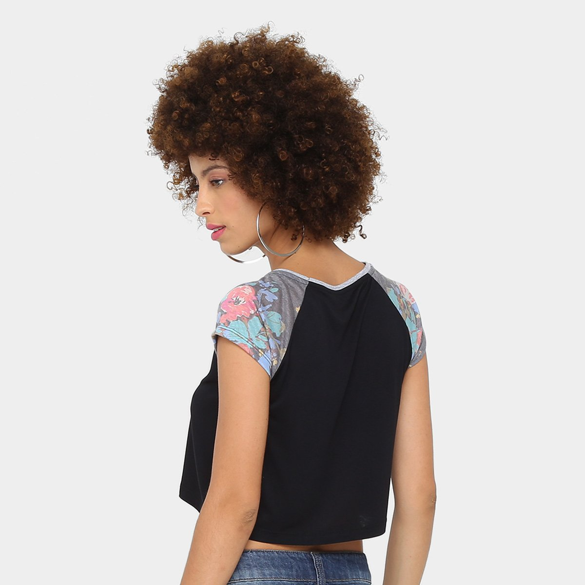 Feminina Buds Camiseta Camiseta Camiseta Buds Preto Volcom Forever Forever Feminina Volcom Volcom Buds Preto Twgqn