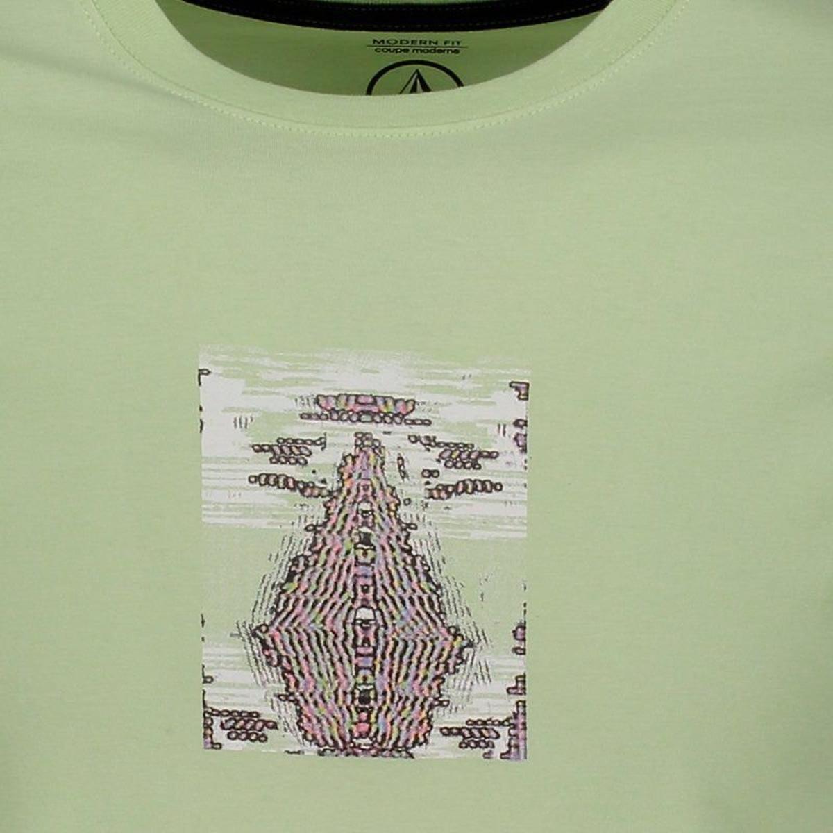 Camiseta Volcom Digi Pool Masculina - Verde - Compre Agora  98d5c589659