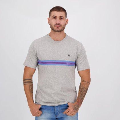 Camiseta Qix Básica Logo Stone Line Masculina