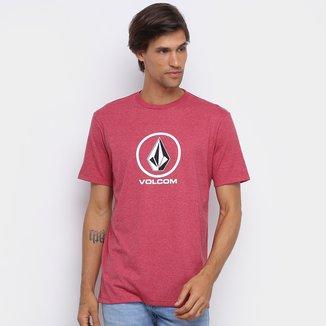 Camiseta Volcom Silk Crisp Stone Masculina