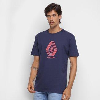 Camiseta Volcom Silk Cycle Stone Masculina