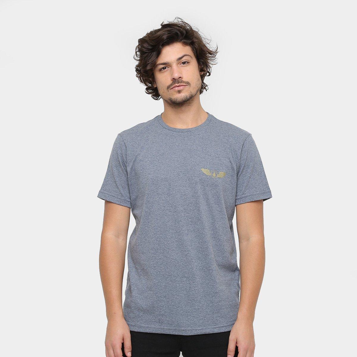 Silk Volcom Bolder Netshoes Camiseta Compre Slim Agora Masculina AgZxq