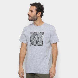 Camiseta Volcom Silk Stamp Divide Masculina