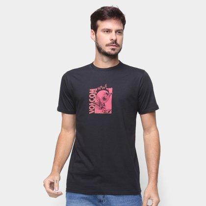 Camiseta Volcom Slim Midfright Masculina