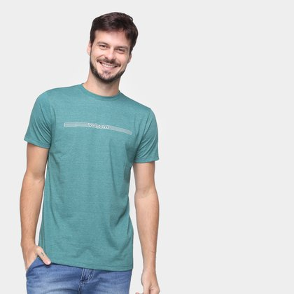 Camiseta Volcom Slim Paralevel Masculina