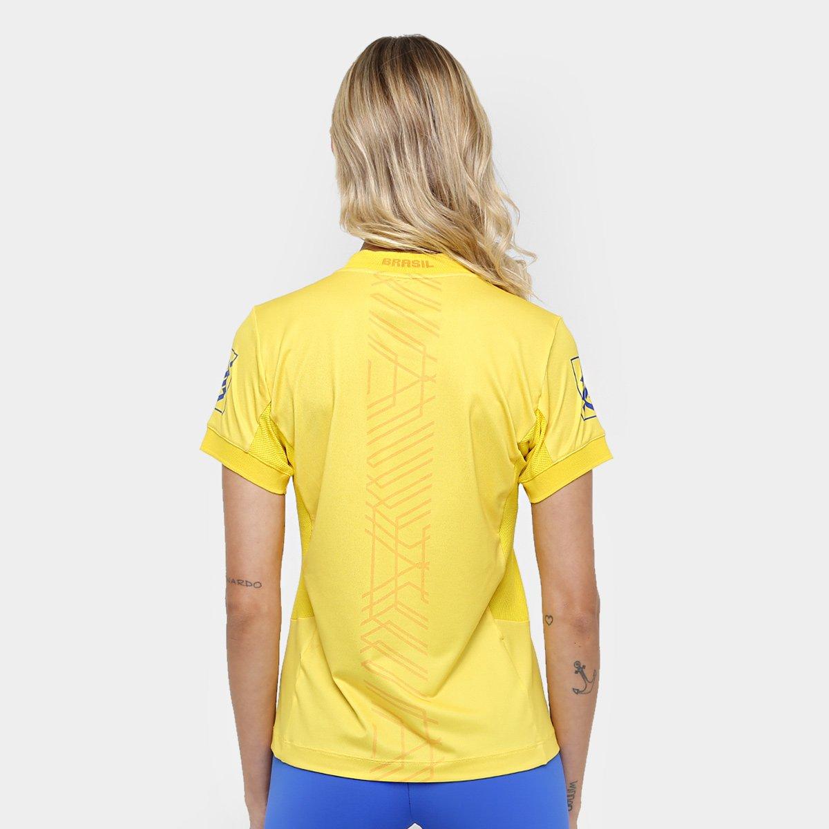 Camiseta Oficial Vôlei Camiseta Asics Jogo CBV Oficial Amarelo Asics CBV Vôlei Amarelo Asics Jogo Camiseta Vôlei Oficial pz4qdYq