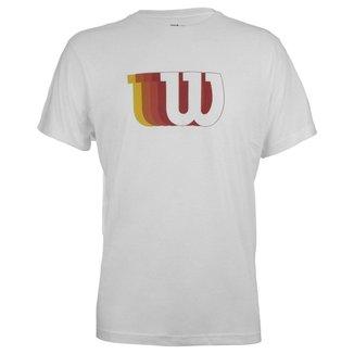 Camiseta W Branca Modelo 2022 - Wilson