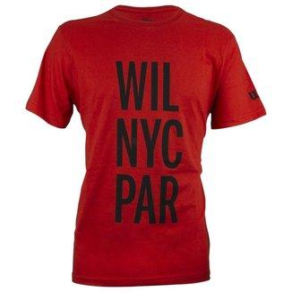 Camiseta Wil NYC Par Vermelha - Wilson