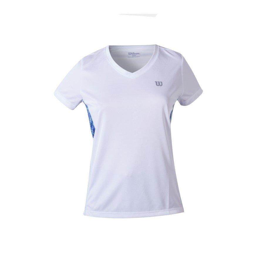 Wilson Branco Camiseta Camiseta Feminina Tour Wilson Infantil Tour Infantil SxnIwqgHf