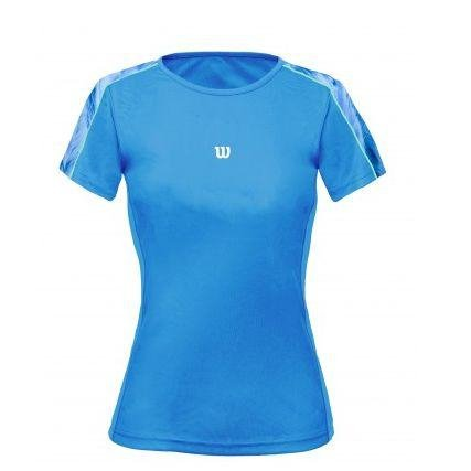 SS Azul Camiseta Wilson Camiseta Tour Wilson Azul paIqCx6