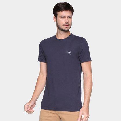 Camisetas Calvin Klein Masculino MC Gola Careca ES6 CCS TM7 T11-CKJM103