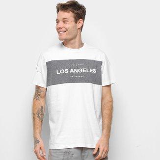 Camisetas Industrie Los Angeles California Masculina