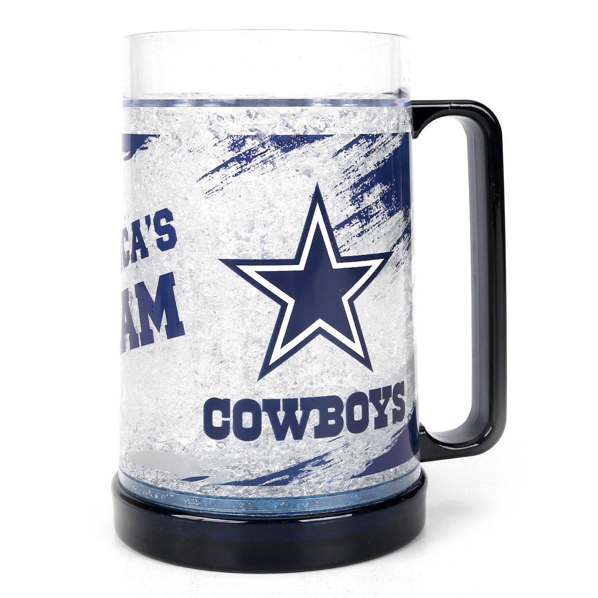 Caneca de Chopp NFL Freezer Mug Dallas Cowboys 490 ml - Incolor ... 73be0d43e6d5f