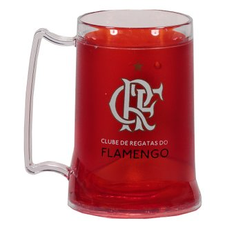 Caneca Gel Flamengo Zico 400ml