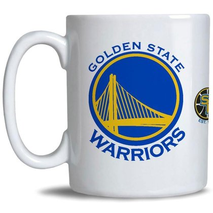 Caneca NBA Golden State Warriors Oficial