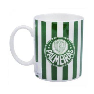 Caneca Porcelana 370ml - Palmeiras