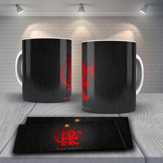 Caneca Time de Futebol Flamengo Mod 11