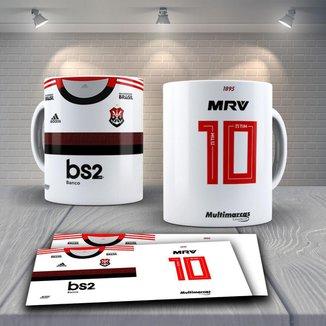 Caneca Time de Futebol Flamengo Mod 13