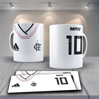 Caneca Time de Futebol Flamengo Mod 17