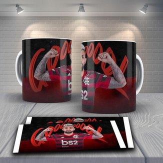Caneca Time de Futebol Flamengo Mod 33
