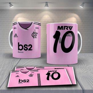 Caneca Time de Futebol Flamengo Mod 8