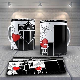 Caneca Time de Futebol Time Atlético MG Mod 3