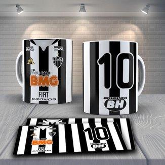 Caneca Time de Futebol Time Atlético MG Mod 6