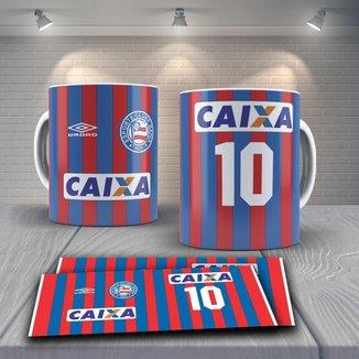 Caneca Time de Futebol Time Bahia Mod 4