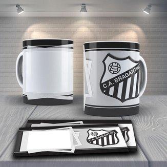 Caneca Time de Futebol Time Bragantino