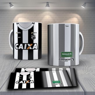 Caneca Time de Futebol Time Ceará Mod 3