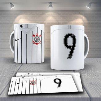 Caneca Time de Futebol Time Corinthians Mod 16
