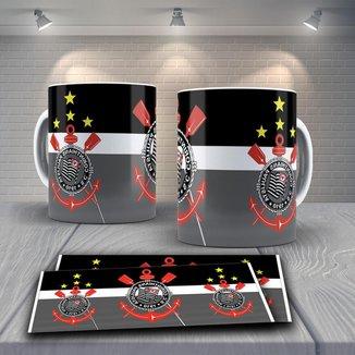 Caneca Time de Futebol Time Corinthians Mod 6