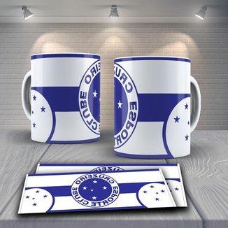 Caneca Time de Futebol Time Cruzeiro Mod 1