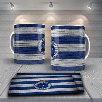 Caneca Time de Futebol Time Cruzeiro Mod 4