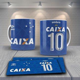 Caneca Time de Futebol Time Cruzeiro Mod 6