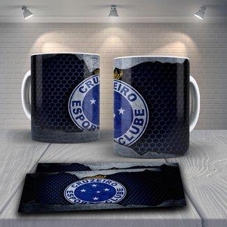 Caneca Time de Futebol Time Cruzeiro Mod 7
