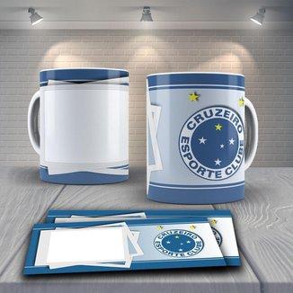 Caneca Time de Futebol Time Cruzeiro Mod 8