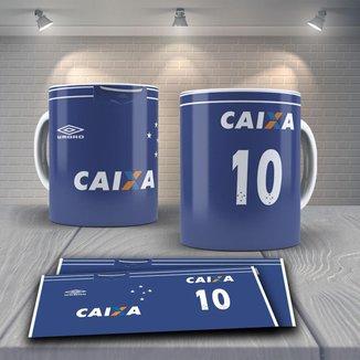 Caneca Time de Futebol Time Cruzeiro Mod 9