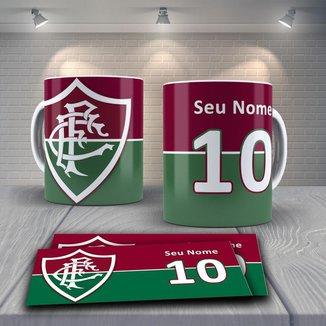 Caneca Time de Futebol Time Fluminense Mod 8