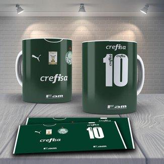 Caneca Time de Futebol Time Palmeiras Mod 12