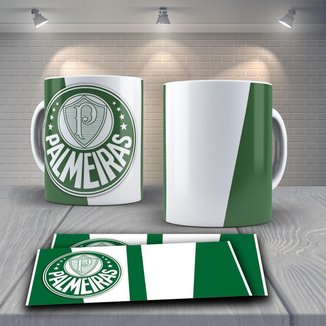 Caneca Time de Futebol Time Palmeiras Mod 13
