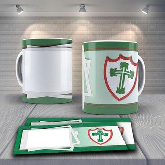 Caneca Time de Futebol Time Portuguesa
