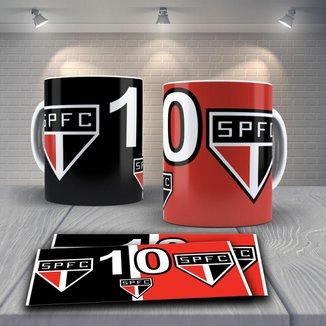 Caneca Time de Futebol Time São Paulo Mod 19